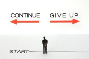 don't give up battling with anxiety