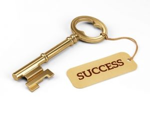 Key depicting success