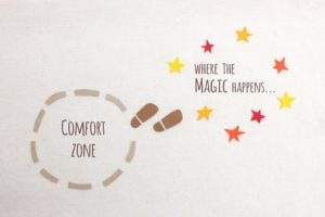 Leaving your comfort zone, social anxiety