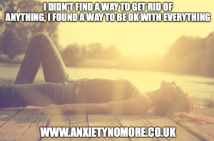 How to recover from anxiety