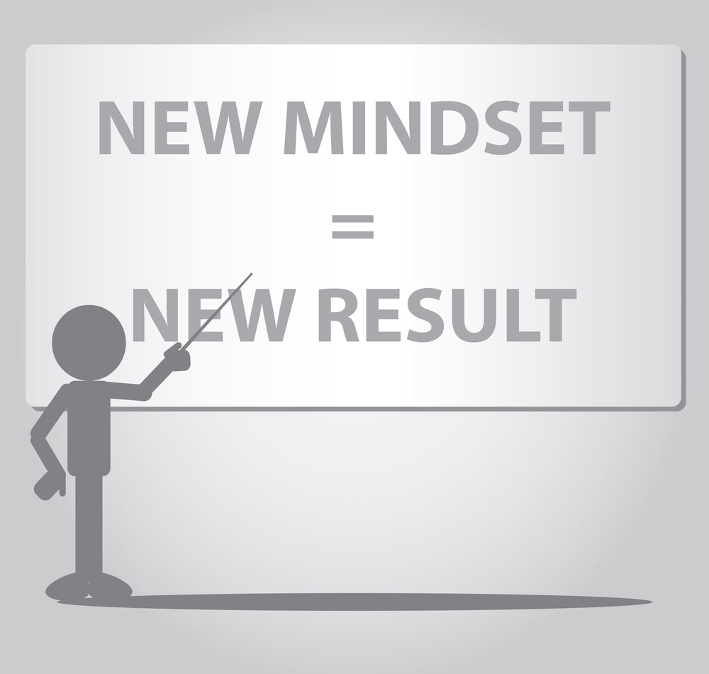 Thinking positively changes your mood