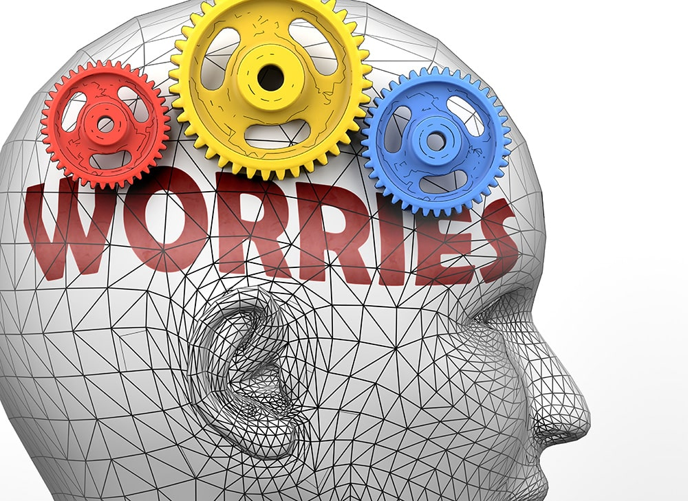 Dealing with racing, worrying thoughts