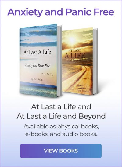 Click here to view books. 'At Last a Life' and 'At Last a Life and Beyond'. Available as physical books, e-books, and audio books.